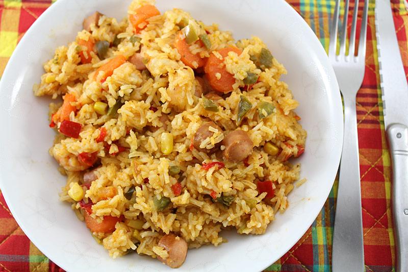 Salade de riz la tutocuisine - Gramme de riz par personne ...